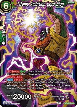 Dragon Ball Super TCG - Titanic Ambition Lord Slug - BT4-059 - SR - Series 4: Colossal Warfare