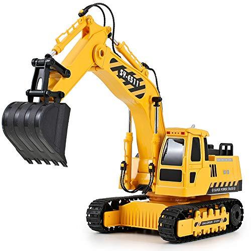 Vehículo de ingeniería de control remoto, gran excavación mecánica de la palanca del motor de carga mando a distancia,...