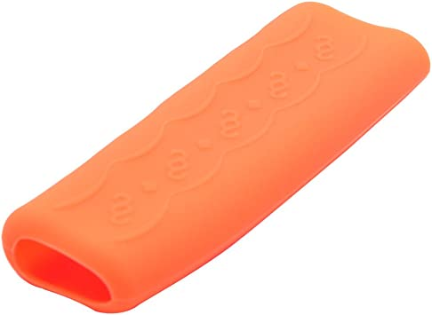 uxcell Car Vehicle Universal Orange Silicone Gel Nonslip Hand Brake Lever Cover Protector