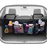 BEST AUTO TRUNK ORGANIZER - Keep your Car Clean and Organized. Durable Foldable Cargo Storage for More Trunk Space. Secure with Adjustable Straps to Fit All Vehicles.