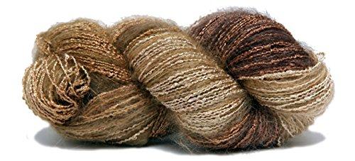 Fiesta Yarns Hand Dyed La Boheme Yarn, Sugar Cane Fiesta Knitting Yarn