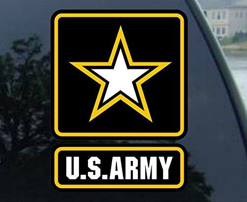 auto window decals army - 7