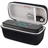 BOVKE Shockproof Carrying Case for Touch Wireless Bluetooth V4.0 Portable Speaker with HD Sound and Bass Protective Hard EVA Travel Case Cover Storage Pouch Bag, Black