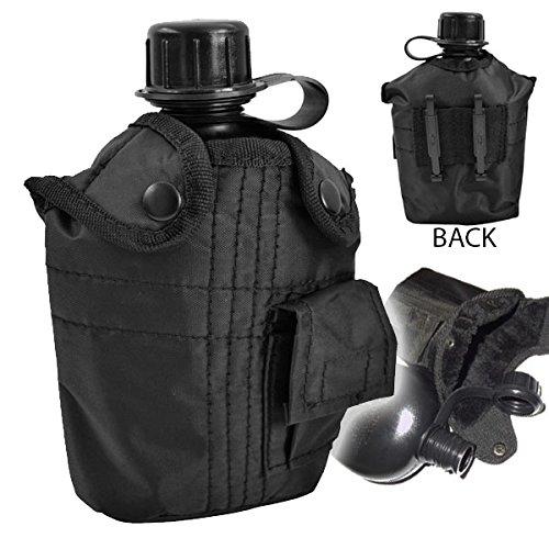 US Feld Flasche Outdoor Feldflasche 1Liter Trinkflasche Army Bw Tactical Survival Überleben Wasserflasche Ausrüstung Camping #16333