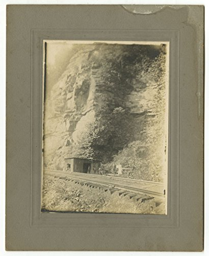 - Early 20th Century Railroad - Trackside Shack - Vintage Photograph
