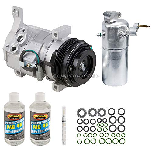 AC Compressor w/A/C Repair Kit For Chevy Express 1500 & GMC Savana 2500 - BuyAutoParts 60-81927RK New