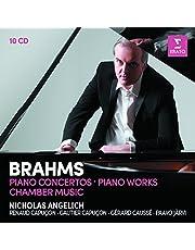 Brahms: Piano Concertos, Piano Works, Violin Sonatas, Piano Trios (10CD)