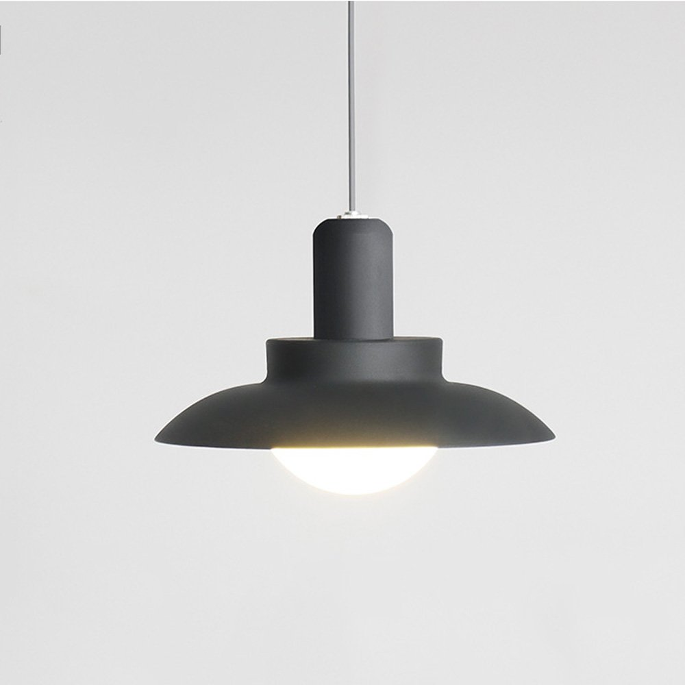 Pointhx Nordic Outdoor Lampadario a sospensione a sospensione Lampadario moderno minimalista LED vetro Lanterna ad altezza regolabile all'aperto Portico Gazebo Lampada a sospensione Corridor Aisle Bal