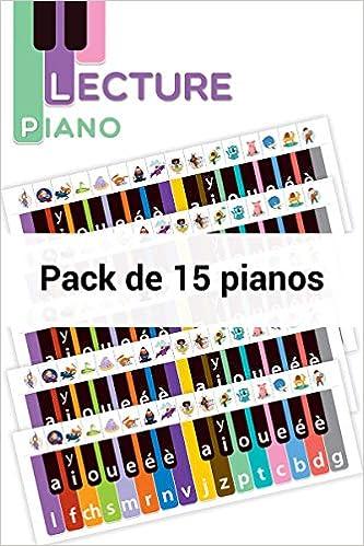 Outil piano : Pack de 15 (Lecture piano): Amazon.es: Retz: Libros en idiomas extranjeros