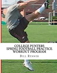 College Punters Spring Football Practice Workout Program
