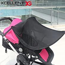 Xcellent Global Stroller Shade UPF 50+ Sun Protection Pram Baby Carrier Cover Weather Shield SP040