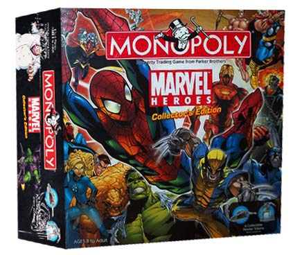 Monopoly: Marvel Heroes Collector's Edition