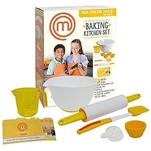 Masterchef junior baking kitchen set 7 pc for Kitchen set real