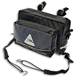 Axiom Atlas 4.5 Handlebar Bag, Grey/Black