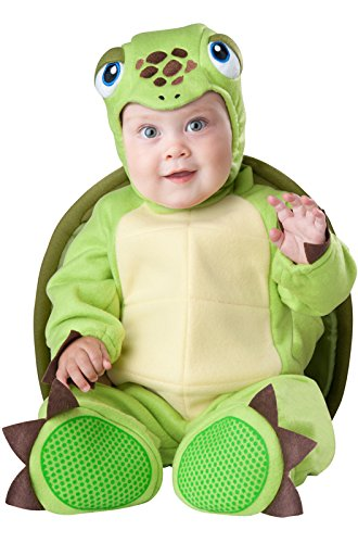 InCharacter Baby's Tiny Turtle Costume, Green, Small]()