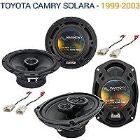 Toyota Camry Solara 1999-2003 OEM Speaker Upgrade Harmony Speakers Package New