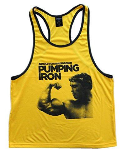 bcda13254654d Muscleman Gear Arnold Schwarzenegger Pumping Iron Men s Stringer Tank Top -  Buy Online in Oman.