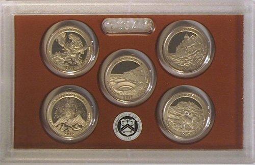 2012 S US Mint Quarters Proof Set OGP