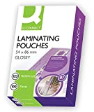 Q Connect A5 100 Micron Laminating Pouch (Pack of 100) 54 x 86 mm