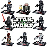 Dargo Star Wars Compatible Mini Figures Toy Blocks Set, 8 Peaces