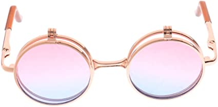 1//6 Fashion Heart//Round Shaped Alloy Glasses for 12/'/' Blythe Dolls Beauty ACCS