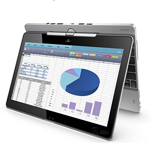 HP EliteBook REVOLVE 810 G2 Touchscreen TABLET, Intel Core I7-4600U 2.1GHz, 8GB RAM, 256 GB SSD, Windows 10 Pro 64 bit (Renewed)