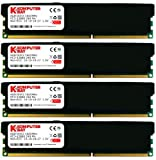 8gb ddr3 low profile - Komputerbay 32GB (4x 8GB) DDR3 PC3-12800 1600MHz DIMM with Black Low Profile Heatspreaders 240-Pin Dual / Quad Channel RAM Desktop Memory KIT 10-10-10-27 XMP ready for Intel Based Computers