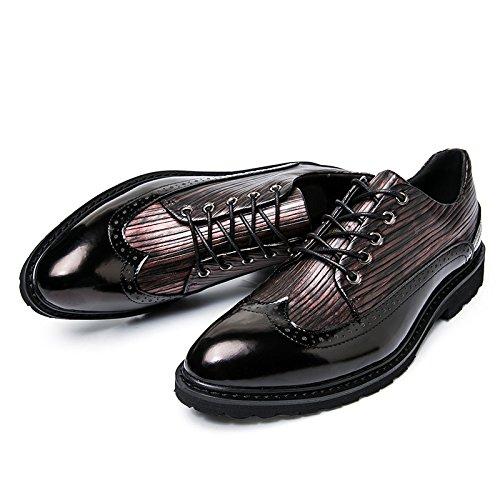 Slip D'affaires Cuir Printemps Chaussures en zmlsc Décontractées Black Très Homme Chaussures Eté Hiver Hiver Automne tq4OWWIw