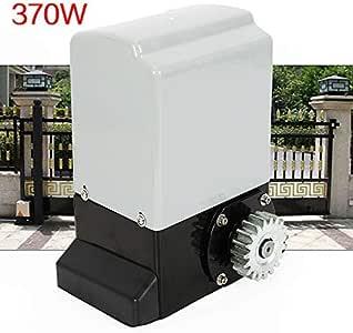 HaroldDol - Accionamiento para puerta corredera (370 W, eléctrico, con 2 mandos a distancia, hasta 600 kg): Amazon.es: Bricolaje y herramientas
