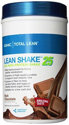 GNC Total Lean Shake, Chocolate, 1.83 Pound