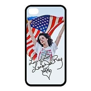 Customize Famous Singer Lana Del Rey Back Case for iphone 6 Plus 5.5 JN4S-1959