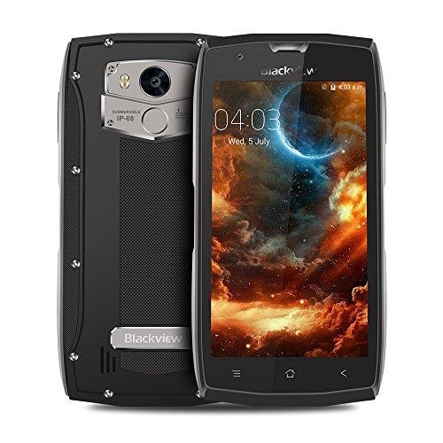 Smartphone entriegelte IP68, Blackview BV7000 Android 7.0 Bildschirm 5.0 Zoll + 2GB RAM + 16 GB ROM + Quad-Core + 5MP 8MP Kamera, Phone Wasserdichte Stoßfest Staubdicht NFC