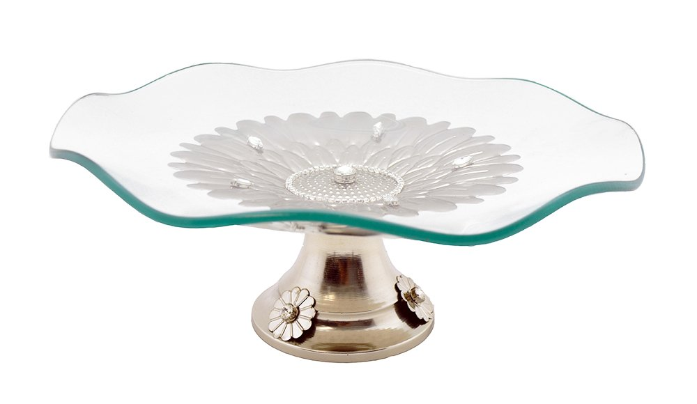Three Star RS2630 Tiered Serving Platters Clear