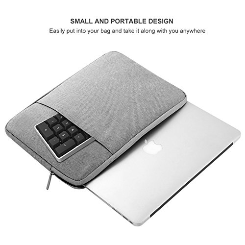 Jelly Comb Numeric Keypad for MacBook, Type C Number Pad, Portable Mini Wired 18-Key USB C Number Pad for Mac, Mac Pro, MacBook, MacBook Pro 2016/2017, iMac, iMac Pro by Jelly Comb (Image #8)