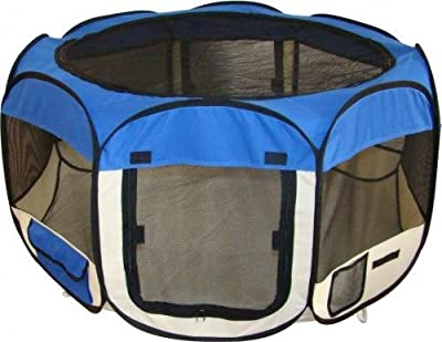 ESK Collection Pet Tent Exercise Pen Playpen Dog Crate XS