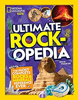 Book Cover: Ultimate Rockopedia: The Most Complete Rocks & Minerals Reference Ever