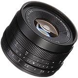 7artisans 50mm F1.8 Large Aperture Portrait Manual Focus Lens for Panasonic Olympus M4/3 Mount - Black
