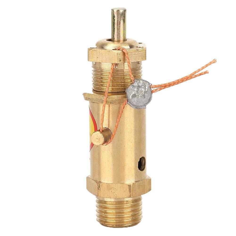Clapet anti-retour de compresseur dair 4 en laiton de soupape de d/écharge de s/écurit/é pour le palier de pression du g/én/érateur de vapeur de chaudi/ère composants de rechange du compresseur dair G1