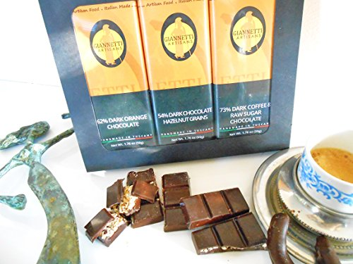 Giannetti Artisans Handmade Italian Dark Chocolate from Tuscany (Artisan Food Gifts)