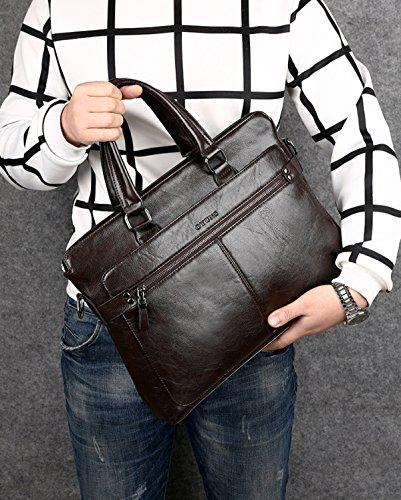 Maletines Hombro Bolsas De Mensajero De Bolsas Hombre Hombres De Black Vintage Ocasionales Trabajo De Bolsas Oficina Negocios Para Para 7BxIr7q6