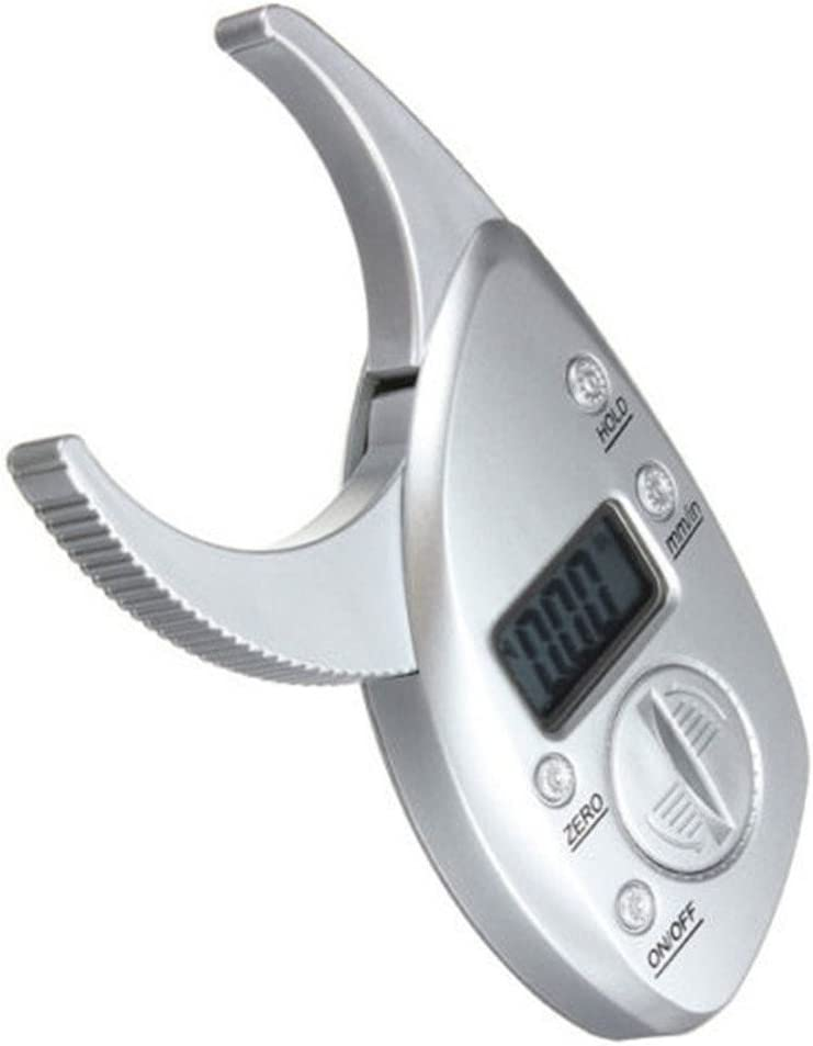 Body Fat Monitors Portable Digital Skinfold Measurement Tester Measuring Caliper