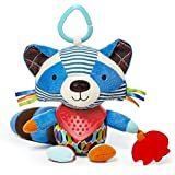 Skip Hop Bandana Buddies Soft Activity Toy, Raccoon