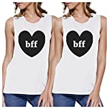 Best 365 Printing Friend Matching Gifts - 365 Printing Bff Hearts White Best Friend Matching Review