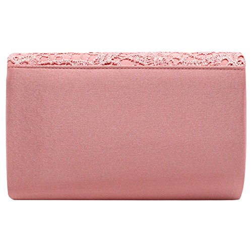 Lace Women Handbag Clutch Bag Lady Bridal Floral Evening Wiwsi Party Purse Nice fdqxaft