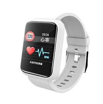 STEAM PANDA Relojes Inteligentes con Monitor de Ritmo cardíaco y podómetro Deportivo con presión Arterial Impermeable IP67 230MAH Bluetooth 4.1 para ...