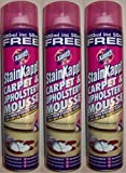 3 x Cans Of Xanto StainXapp Carpet & Upholstery Mouse 500ML