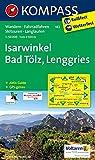 Isarwinkel - Bad Tölz - Lenggries: Wanderkarte mit Aktiv Guide, Radwegen und Skitouren. GPS-genau. 1:50000 (KOMPASS-Wanderkarten, Band 182)