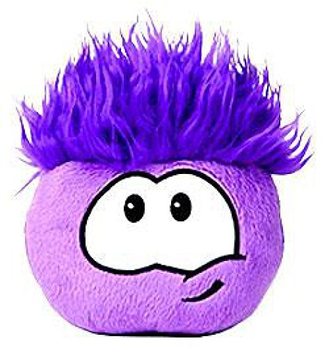 Disney Club Penguin 4 Inch Plush Puffle Purple