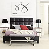 Amazon.com: Leather - Bedroom Sets / Bedroom Furniture: Home & Kitchen