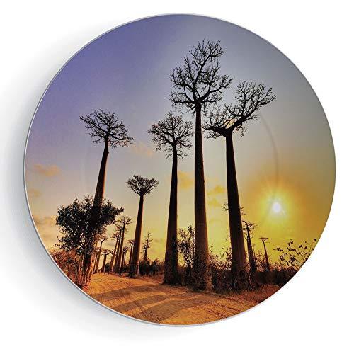 Madagascar Dinner Plates - 7